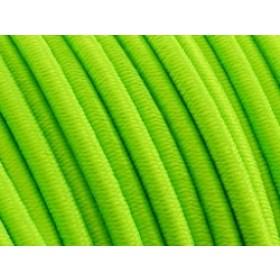 Elastiek draad neon groen 0,8mm