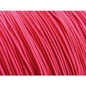 Elastiek draad roze 0.8mm