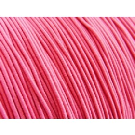 Elastiek draad zuurstok roze 0,8mm