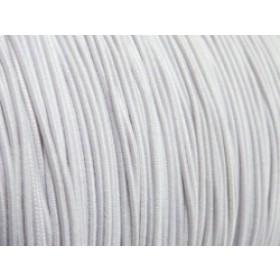 Elastiek draad licht grijs 0,8mm (per meter)