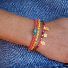 DIY pakket 3 summer bracelets