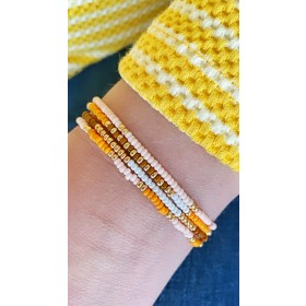 diy-pakket-kralen-armbandjes-oranje-bruin-roze-wit-en-goud