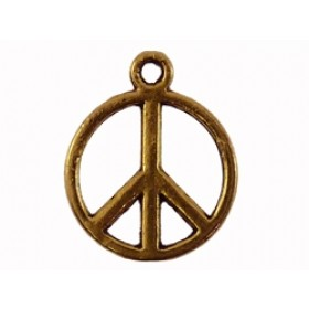 Bedel goud peace 13mm