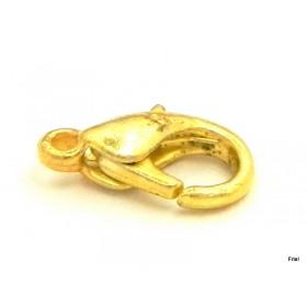 Karabijnslot goud 17mm