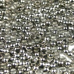 Knijpkraal 3mm zilver zakje 20 stuks