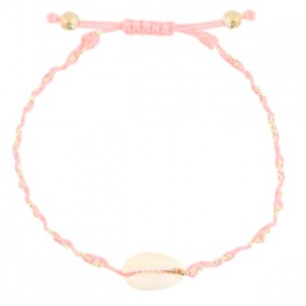 armbandje-kauri-gevlochten-light-pink-gold