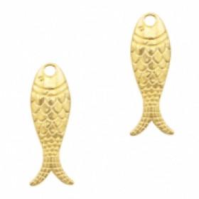 Bedel vis 23x7mm goud