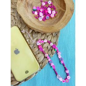DIY pakket telefoonkoordje pink it is