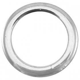 DQ dichte ring zilver 18mm