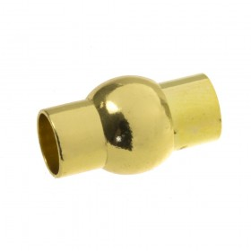 DQ magneetslot 6mm goud