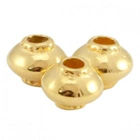 dq-metalen-tube-cone-4mm-goud-nikkelvrij