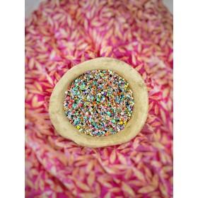Kralen kleurenmix zak 50 gram