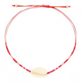 enkelbandje-kauri-miyuki-rood