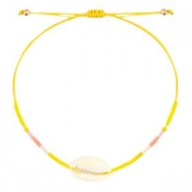 enkelbandje-kauri-miyuki-sunflower-yellow