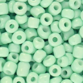 glaskralen-rocailles-6-0-4mm-rond-8gram-neo-mint-green