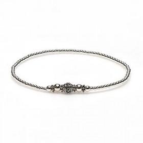 karma armband 925 sterling zilver bohemian round