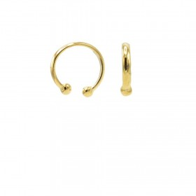 karma-earcuff-plain-mini-925-sterling-silver-goldplated-1piece