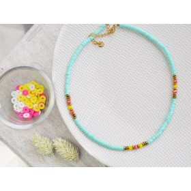 DIY pakket ketting katsuki mint-green