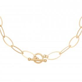 ketting-airy-links-stainless-steel-goud