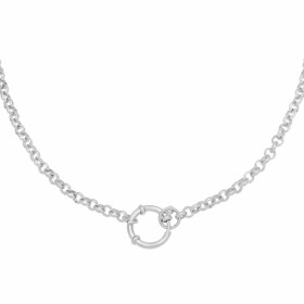 ketting-chunky-lock-stainless-steel-zilver