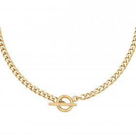 ketting-chunky-stainless-steel-goud