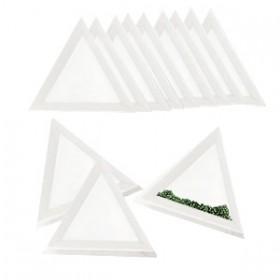 kralenbakje-driehoek-wit