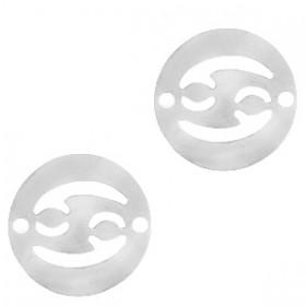 bedel-tussenzetsel-sterrenbeeld-kreeft-zilver-stainless-steel-12mm