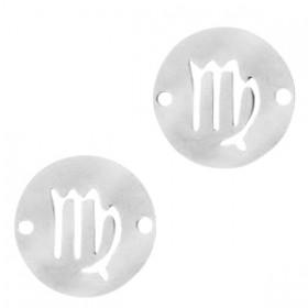bedel-tussenzetsel-sterrenbeeld-maagd-zilver-stainless-steel-12mm