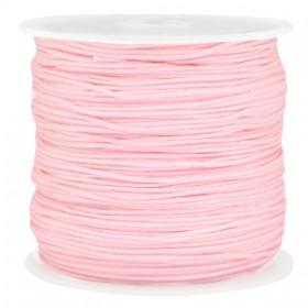 Macramé draad 0.8mm light pink per meter