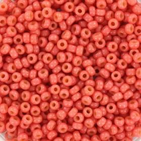 Miyuki rocailles 11/0 (2mm) 5 gram duracoat opaque light watermelon