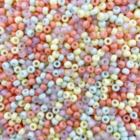 Miyuki rocailles 8/0 (3mm) 5 gram mix 4