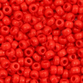 Miyuki rocailles 8/0 (3mm) 5 gram opaque red