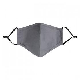 Mondkapje niet medisch small 17x13cm grey