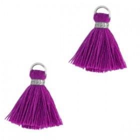 kwastje-stof-met-oog-ibiza-style-1-5cm-orchid-purple-zilver