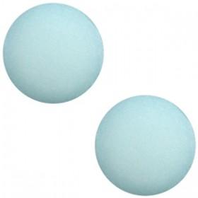 Polaris cabochon 7mm matt haze blue