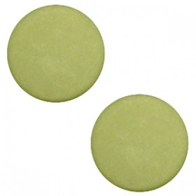 Polaris cabochon 7mm matt salvia green