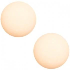Polaris cabochon 7mm matt silk beige