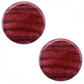 Polaris cabochon 7mm sparkle dust aubergine red