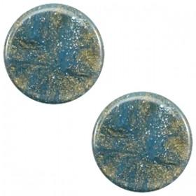 Polaris cabochon 7mm stardust blue shade