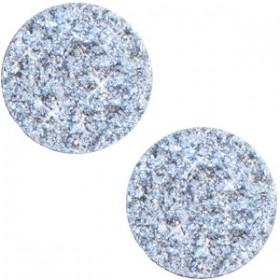 Polaris cabochon plat 12mm goldstein light sapphire blue