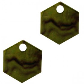 resin-hangers-hexagon-olive-green-14mm-per-stuk