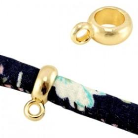 Ring met oog 12x8mm (binnenmaat 5mm) goud