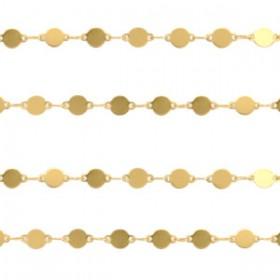 stainless-steel-jasseron-6x4mm-coins-goud-per-20cm