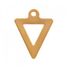 stainless-steel-bedel-triangel-12x9mm-goud