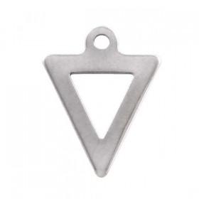 stainless-steel-bedel-triangel-12x9mm-zilver