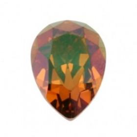 Swarovski druppel crystal copper 14x10mm