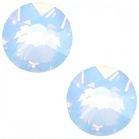 Swarovski platte steen SS34 flatback xirius rose air blue opal