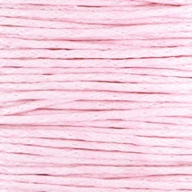 Waxkoord 1mm light pink per meter