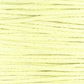 Waxkoord 1mm pastel yellow per meter