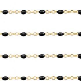 stainless-steel-balletjes-jasseron-1mm-zwart-goud-per-20cm